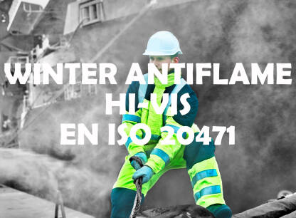 WINTER ANTIFLAME HI-VIS – EN ISO 20471